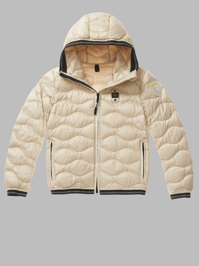 GREG WAVE-QUILTED DOWN JACKET