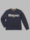 Blauer - BLAUER T-SHIRT - Intense Night Blue - Blauer