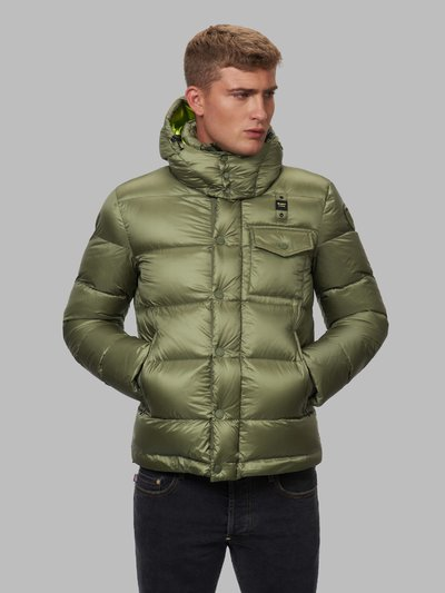 BRENT DOWN JACKET WITH DETACHABLE HOOD