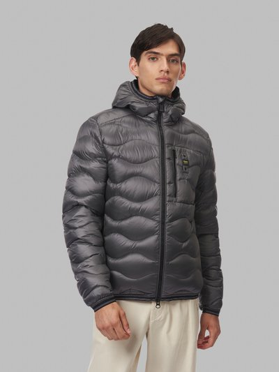 MAURICE WAVE-QUILTED DOWN JACKET