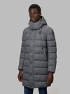 Blauer - CHRISTIAN LONG DOWN JACKET WITH RECYCLED PADDING - Grey Shadow - Blauer