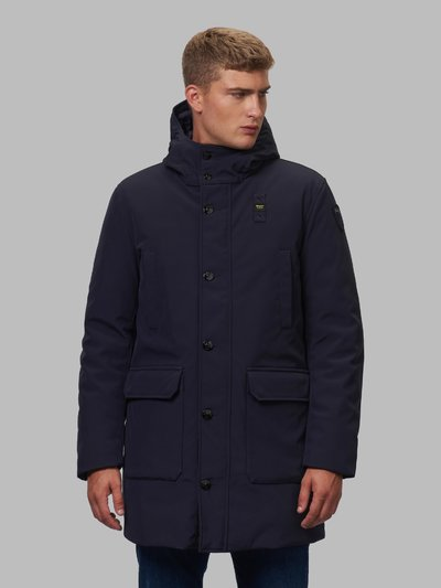 CLAUDE PARKA WITH CONTRASTING LINING