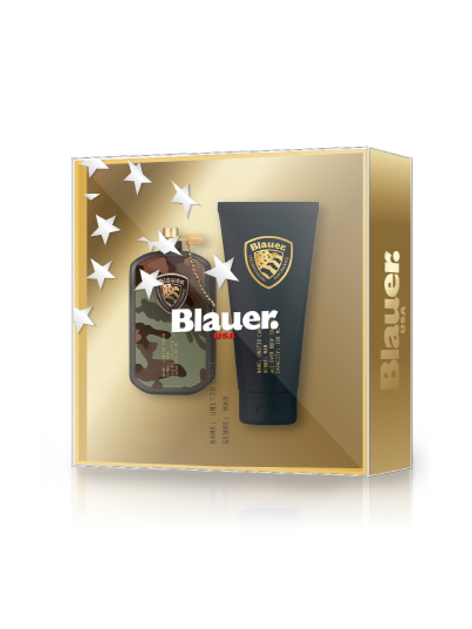 BLAUER CAMOU COFFRET FOR MAN - Blauer