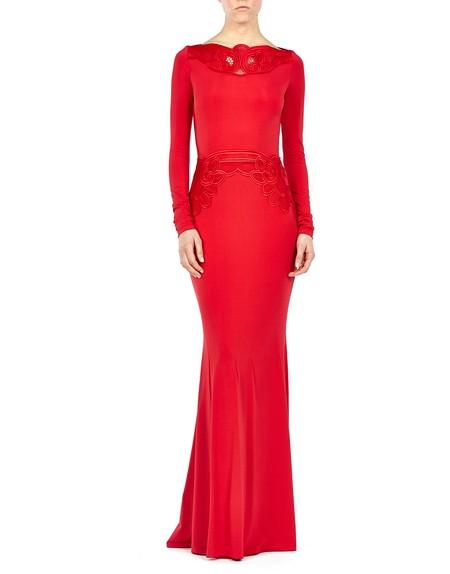 Macramé Lace Gown