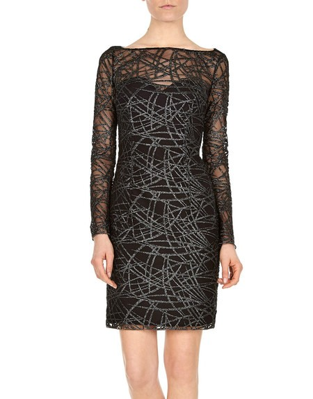 Bamboo Embroidered Tulle Dress