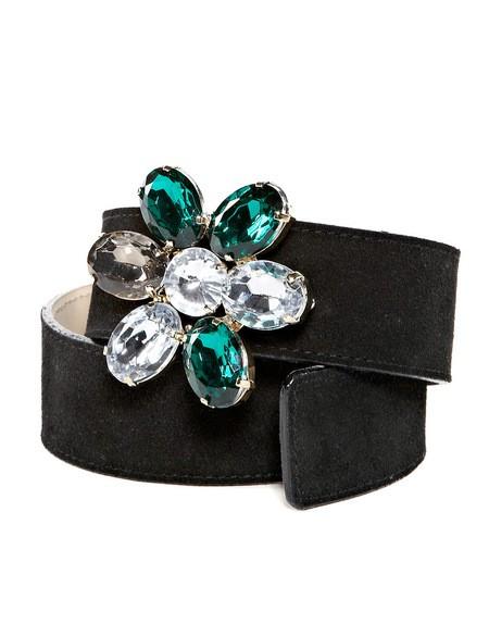 Gemstone Embellished Belt