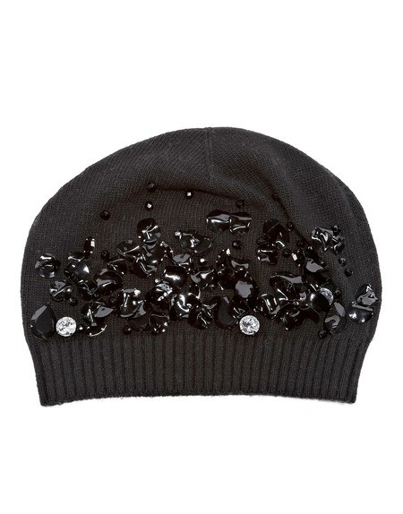 Crystal And Sequin-embellished Beanie