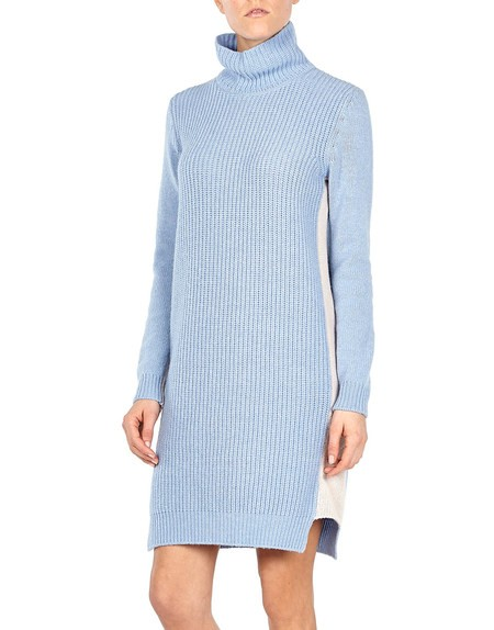Color-block Wool And Cashmere-blend Dress
