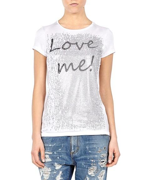 Love Me Print Top