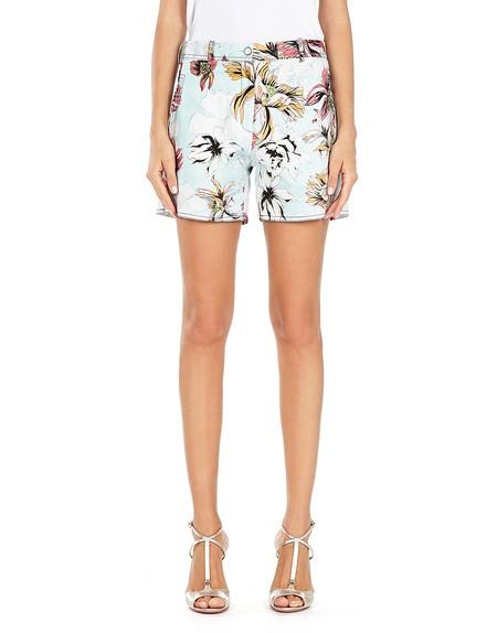 Shorts in Cotone Stampato