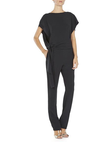 Crepe Wrap Jumpsuit