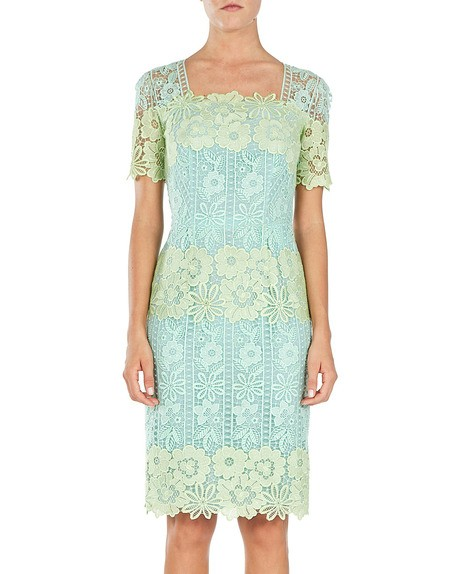 Macramé-lace Dress