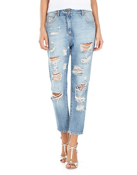 Boyfriend' Denim Pants