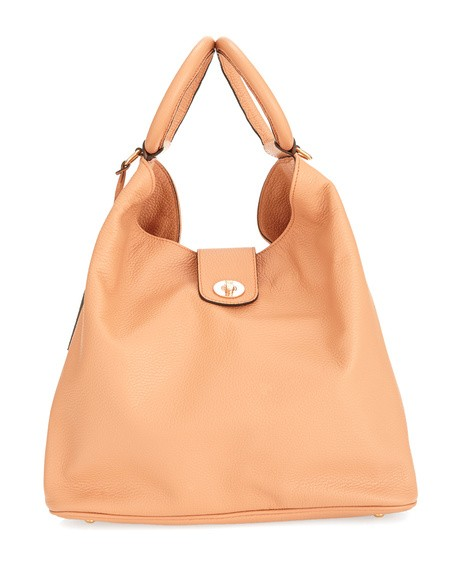 Bucket Bag With Top Handles