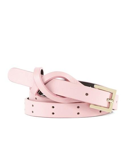 Leather Scalloped Belt