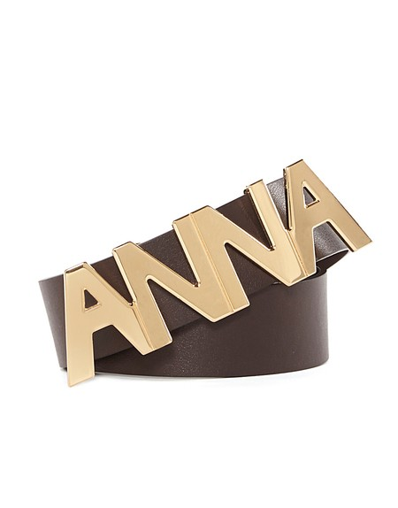 """anna"" Leather Waist Belt"