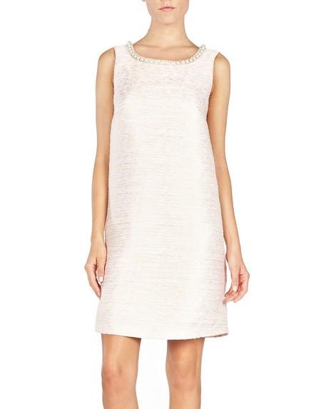 Embellished Textured Dress