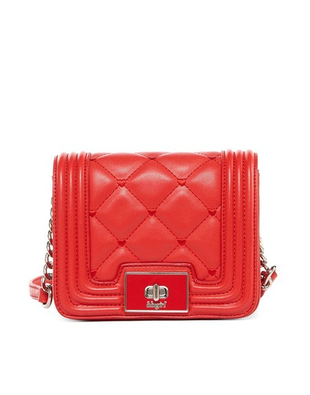 Mini Quilted Eco-leather Crossbody