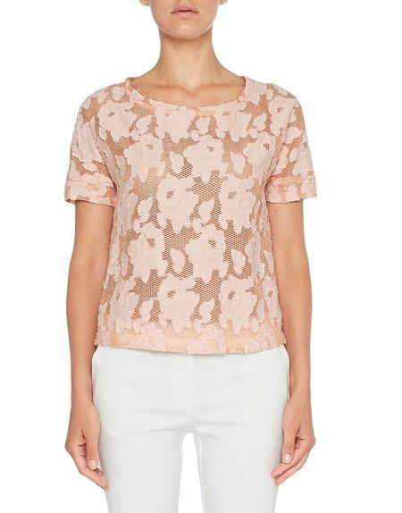 Blusa de encaje floral