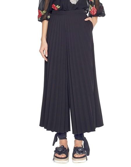 Falda-pantalón plisada