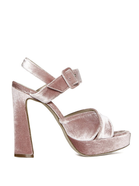 Sandalo in Velluto