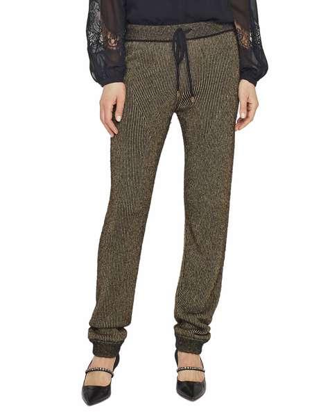 Pantalone a Coste Con Lurex