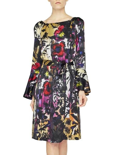 Robe Avec Imprimé À Fleurs