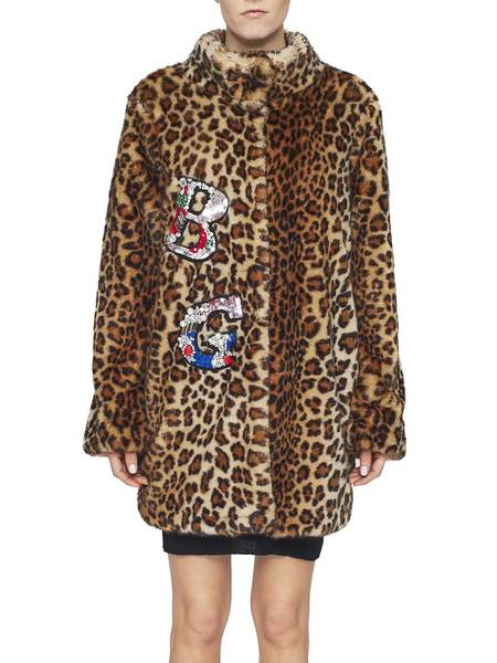 Animal-Print Faux-Fur