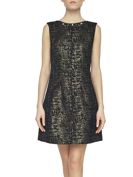 Lurex Jacquard Dress