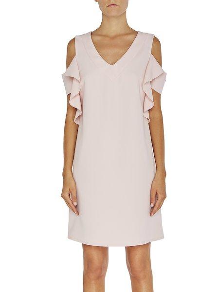 Kleid mit Volants