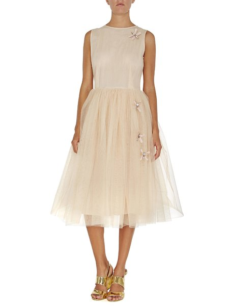 Tulle dress with dragonflies