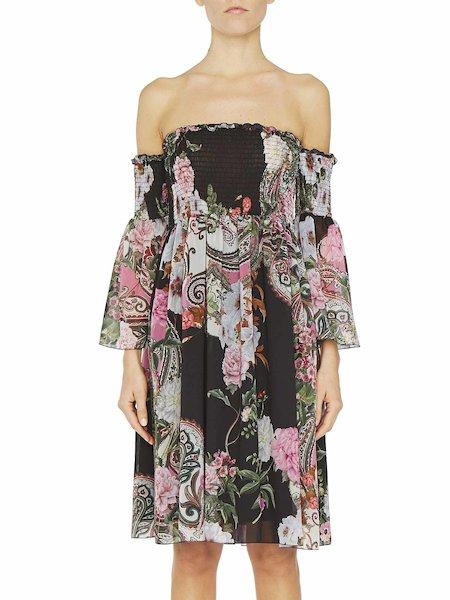 Платье с принтом «пейсли»