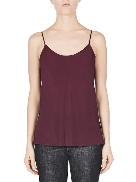 Top de seda - Purple