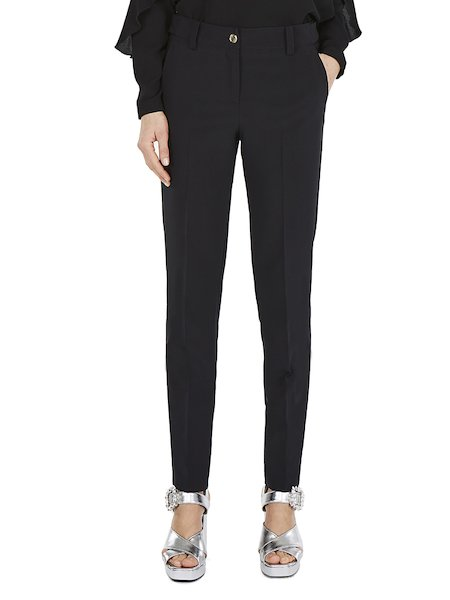 Cigarette trousers - Black