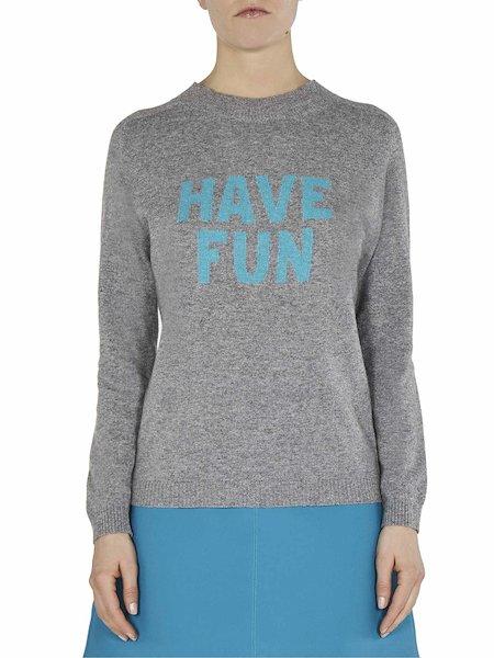Pullover mit Intarsie Have Fun