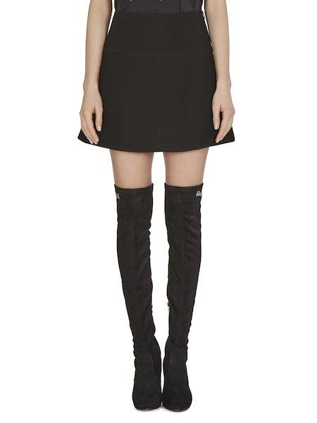 Короткая юбка с А-силуэтом