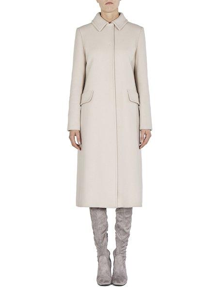 Manteau à boutonnage simple