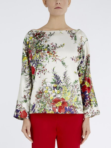 Floral-print blouse - Multicolored