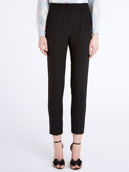 Cigarette-leg trousers