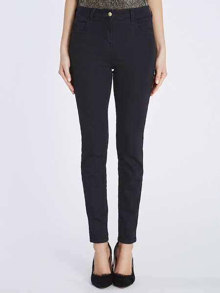 Skinny push up jeans - Black