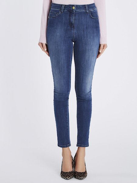Skinny push up jeans - blue