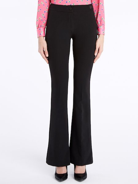 Bell-bottom trousers - Negro
