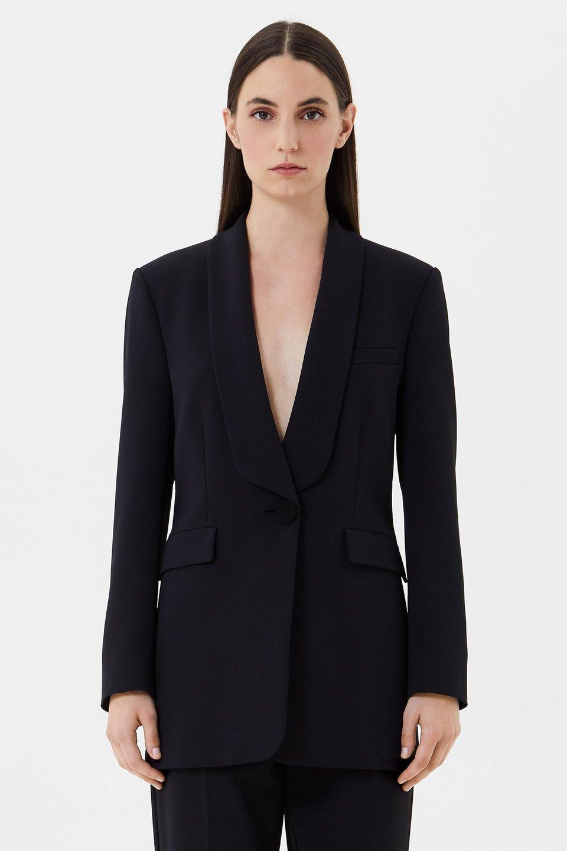 Crepe jacket