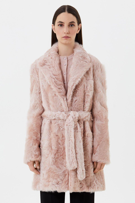Mantel aus Chekiang-Lamm