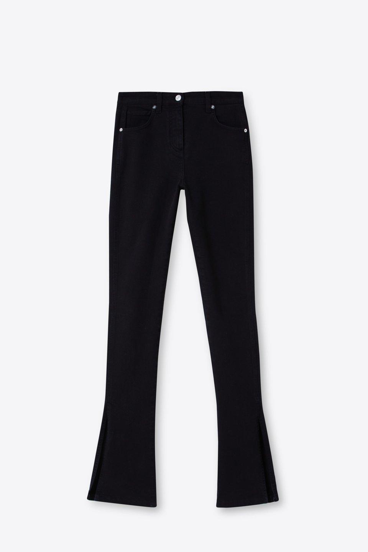 Jeans Cinquetasche Con Spacchi