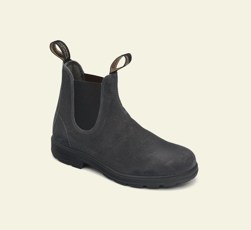 Boots #1910 - ORIGINALS SERIES - Steel Grey Waxed Suede