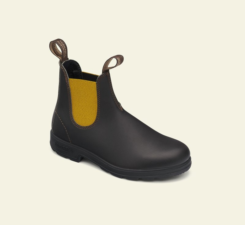 Boots #1919 - ORIGINALS SERIES - Brown & Mustard