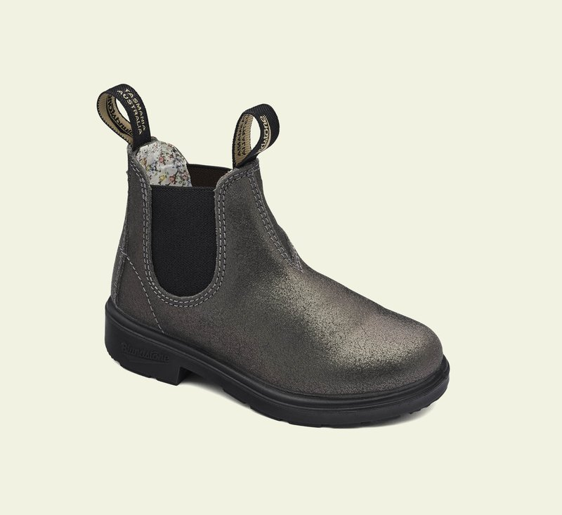 Boots #2093 - KIDS - Silver