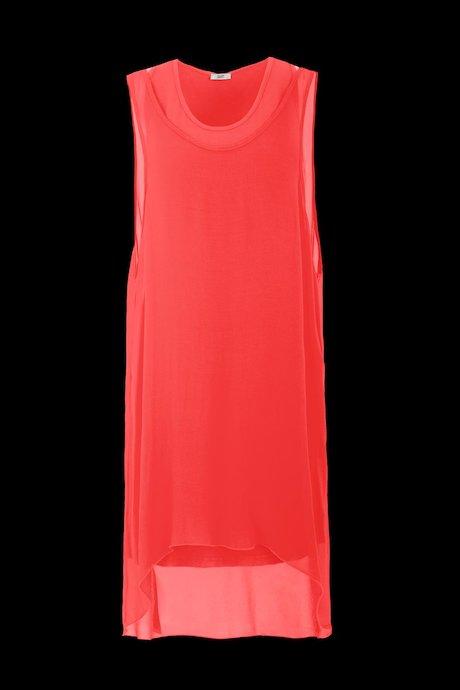 Bimaterial Over Kleid