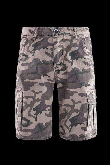 Cargo shorts camouflage